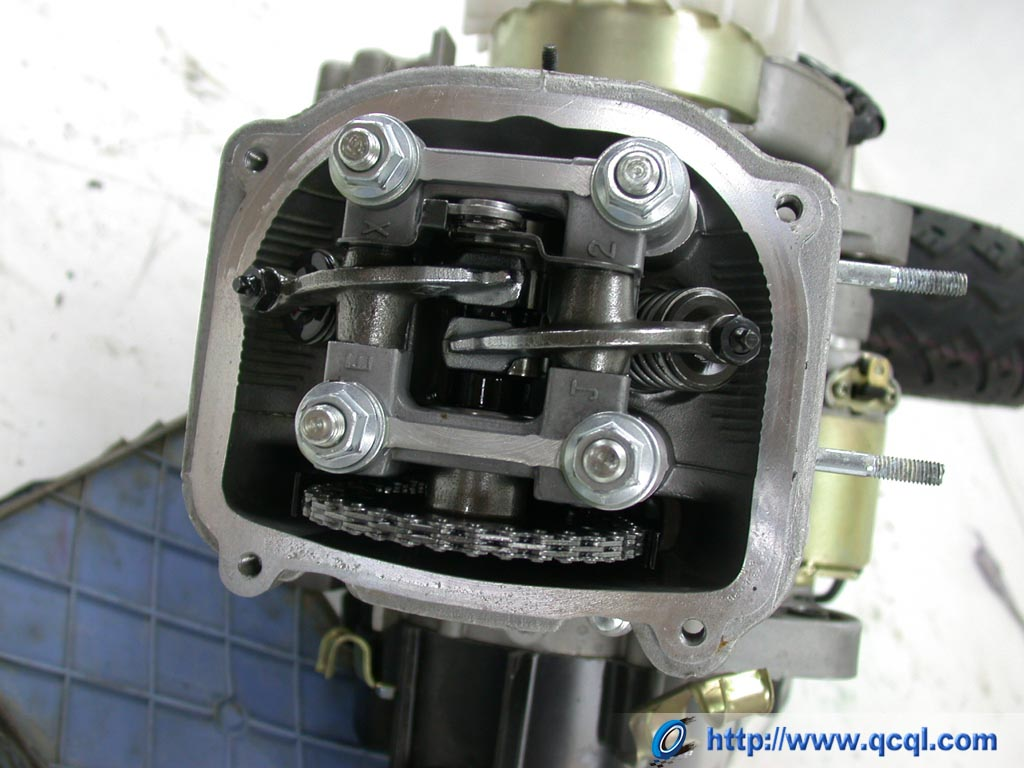 踏板车发动机gy6 vs wy125t