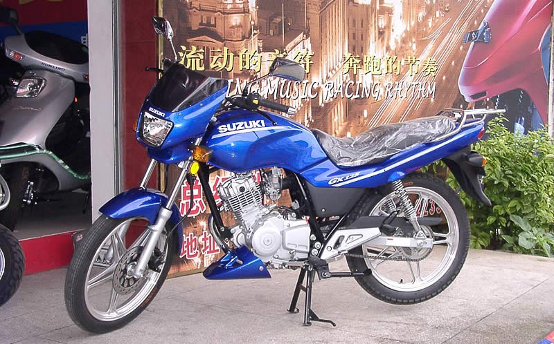 金城铃木 gx125升级版 - 摩托车论坛 - 摩托车论坛