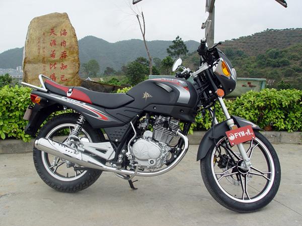 今天刚买的飞鹰fy150-3摩托车.