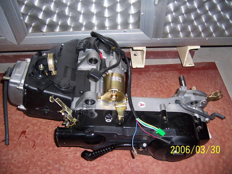gy6发动机构造图解