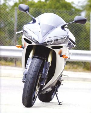 摩托车中的战斗机