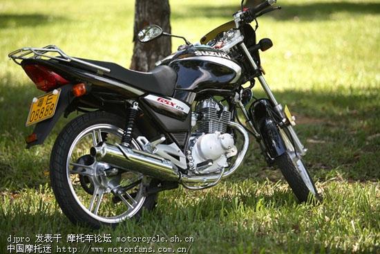 轻骑铃木骏威gsx125-3b十周年纪念版
