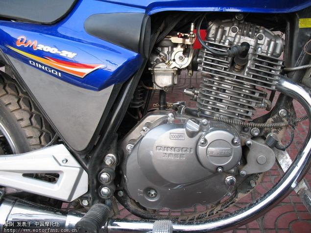 轻骑200发动机电路图