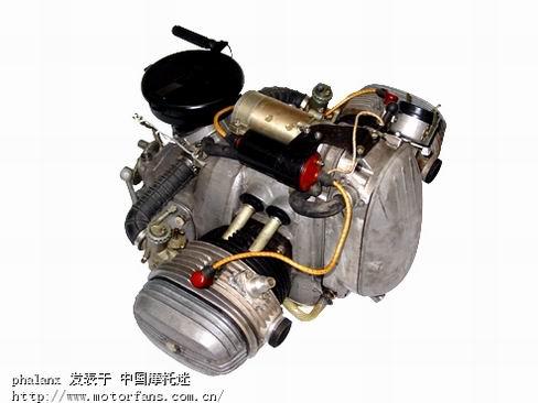 中国最大排量的双缸水冷发动机-长江750