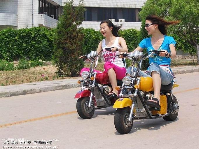 美女骑摩托 摩托车论坛 682
