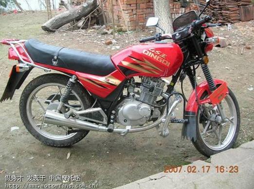 济南铃木摩托车专区 我的宝贝 济南轻骑QM125 2 仿铃木王