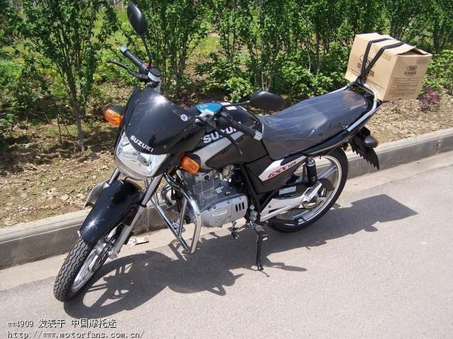 济南铃木gsx125-3b骏威长期骑行报告 - 摩托车论坛 - 济南铃木 - 摩