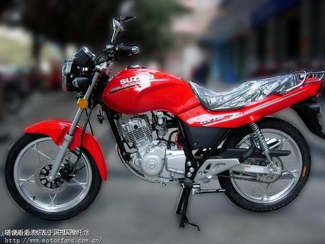 济南铃木摩托车专区 轻骑铃木GT125和金城铃木GX125该选谁