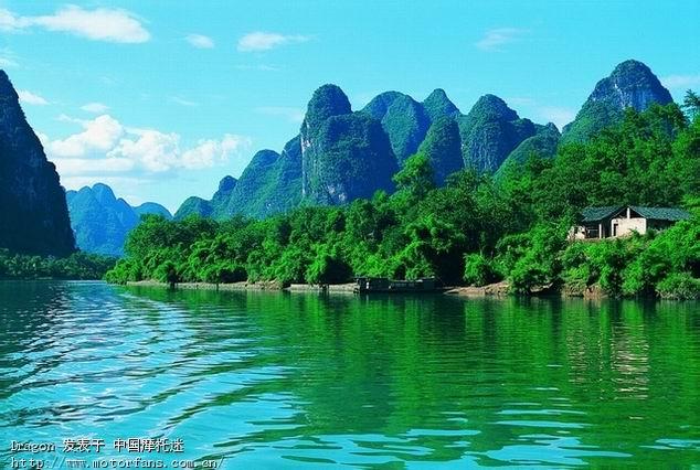 最后到的纯自然的风景区就是桂林的