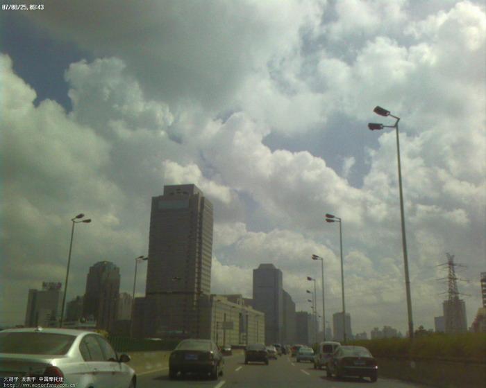 上海延安高架1图片