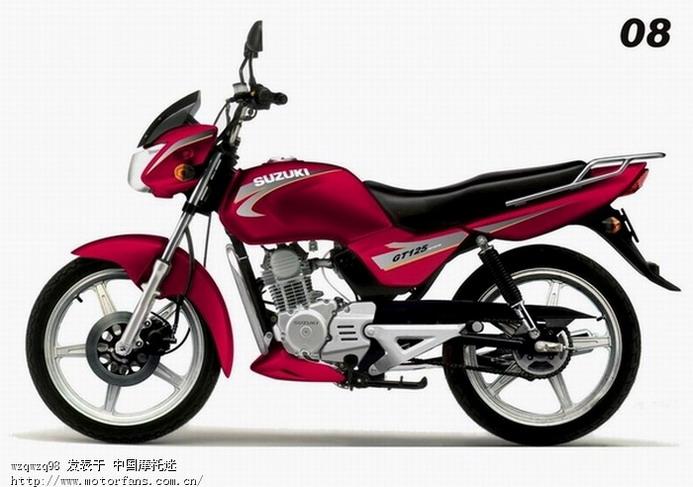 济南铃木摩托车专区 请问大家GT125那个颜色的好看