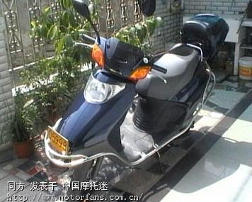 摩托车论坛 五羊本田-踏板车讨论专区 五羊本田-喜悦 03 喜悦100