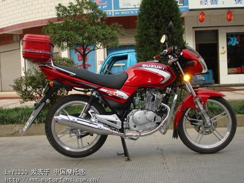 03 济南铃木gsx125-3g骏威长期骑行报告(20120717开始)
