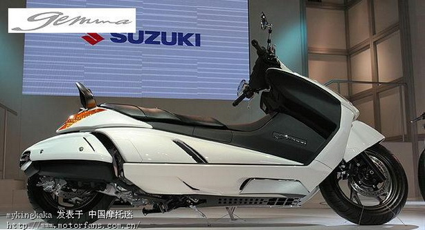 铃木的新款 - 豪爵铃木-踏板车讨论专区 - 摩托车论坛