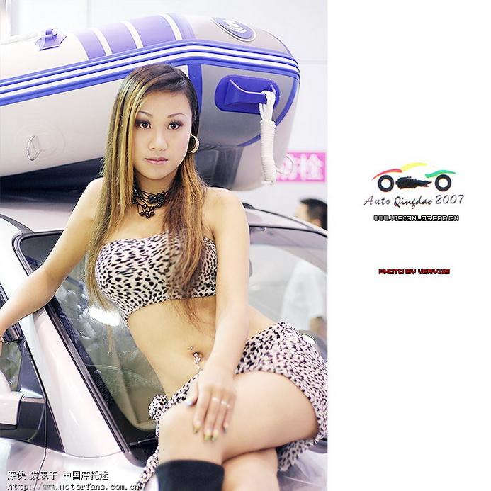 青岛国际车展模特精选