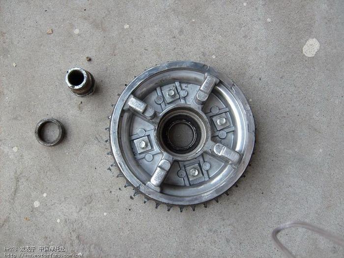 今天自己动手换后轮轴承 维修改装 中国第一摩托车论坛 摩高清图片