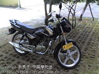 济南铃木摩托车专区 轻骑铃木GT125长期讨论