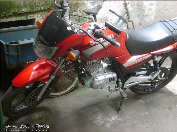 我的金版gsx125-3b~~~ - 济南铃木 - 摩托车论坛 - 第