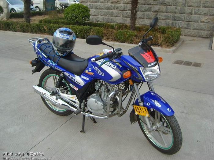 铃木gsx125-3b - 济南铃木 - 摩托车论坛 - 中国第一
