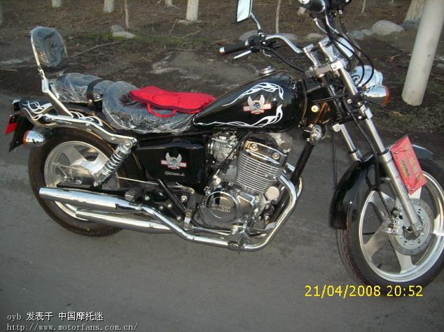 济南铃木摩托车专区 新买的轻骑QM250 A,大家看一看