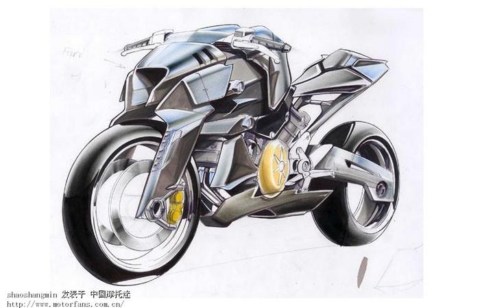 手绘图,大家欣赏下.-摩托车论坛-摩托车论坛手机版-第