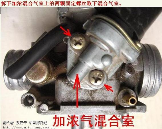 真空膜片式化油器基本结构和原理(转贴)-维修改装-车
