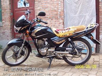 济南铃木摩托车专区 gt125 5