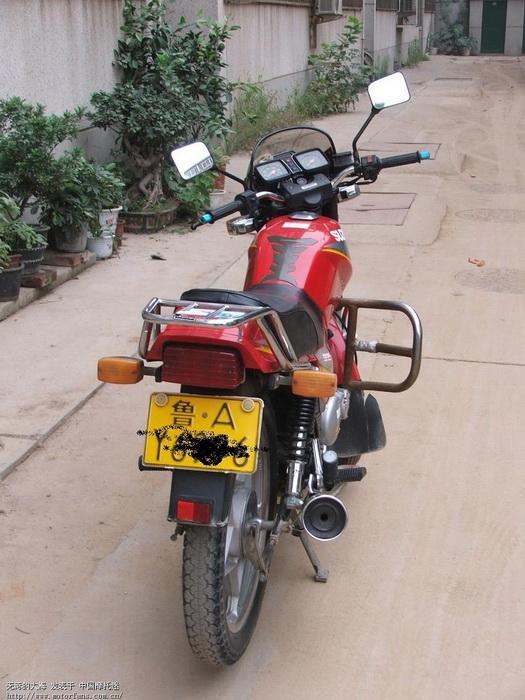济南铃木摩托车专区 起了6年的铃木王gs125上图