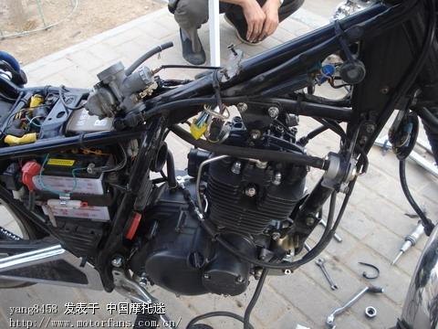 济南铃木摩托车专区 2008年铃木GM125改车实录 -2008年铃木GM125高清图片