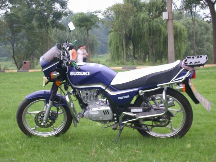 济南铃木摩托车专区 看看我的铃木王GS125