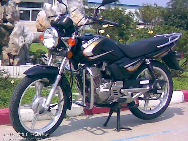 济南铃木摩托车专区 GT125金版和老版的内部区别