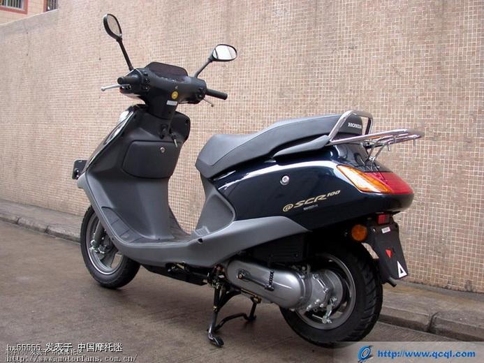 踏板摩托车综合讨论区 本田踏板摩托车讨论区 五羊本田喜悦有前碟刹