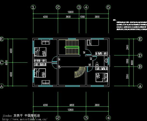 100平方房屋设计图_100平方房子设计图-007鞋