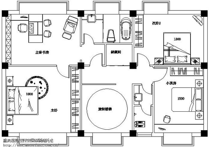 征求100平米的欧式小房子设计图