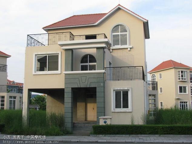 欧式小型房子外观图