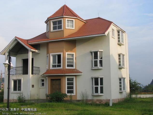 征求100平米的欧式小房子设计图 摩托车论坛