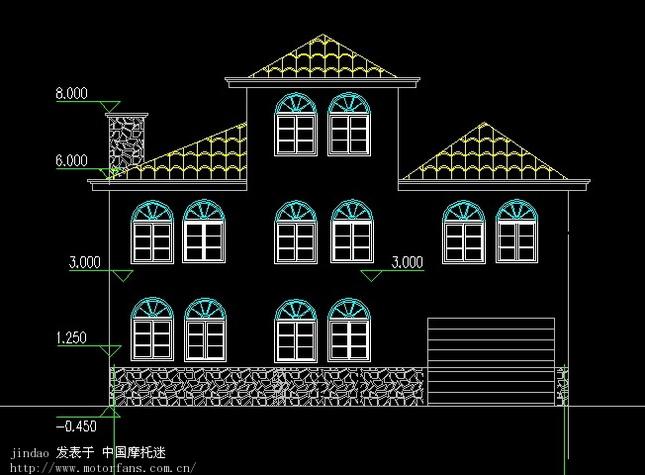 式小房子设计图;