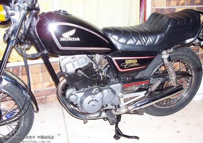 又一毒车,cm250 双缸! - 摩托车论坛 - 摩托车论坛