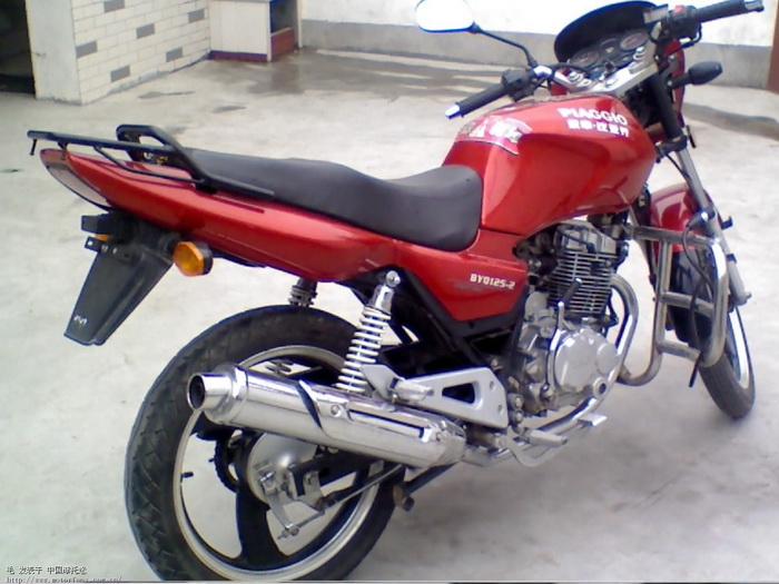 宗申比亚乔摩托车专区 我的BYQ125 2