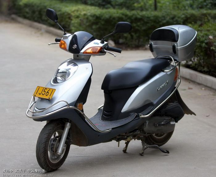 新入丽彩,前来报到-济南铃木-踏板车讨论专区-摩托车