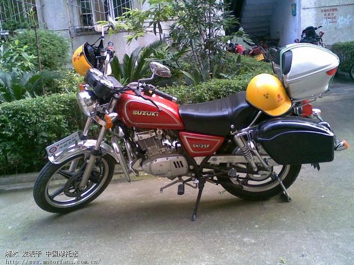 摩托车论坛 豪爵铃木-骑式车讨论专区 gn125/hj125-8 03 gn125f装