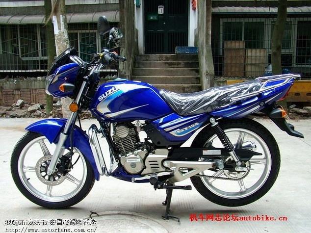 济南铃木摩托车专区 GT125的金版与银版有什么区别 最好用图片说话