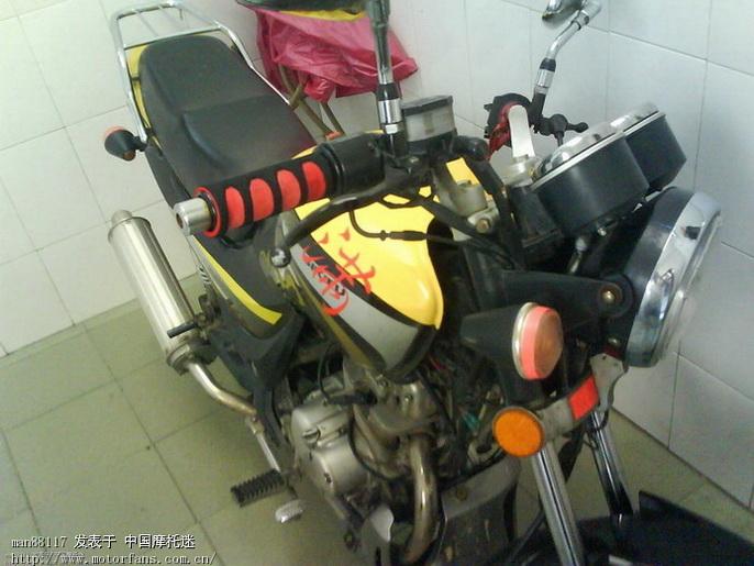 摩托车维修改装 我的车改装排气管,改声音大,如何做,望高手指教高清图片