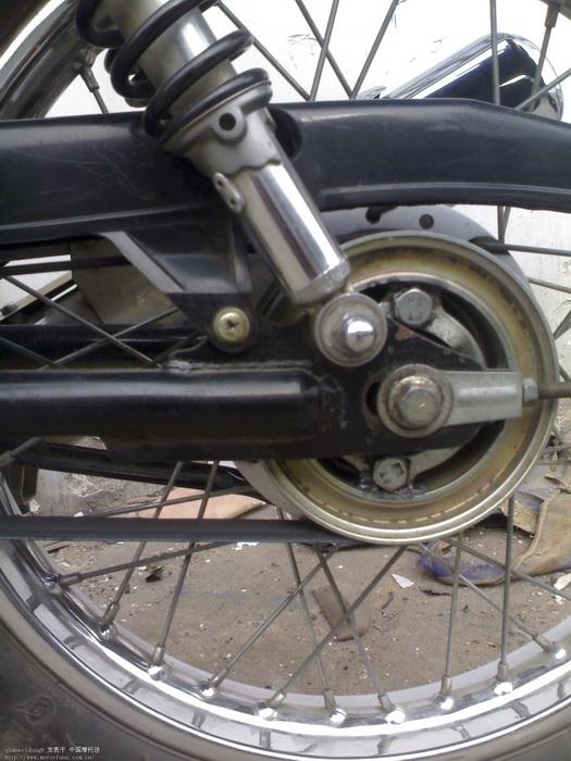 踏板车换皮带图解