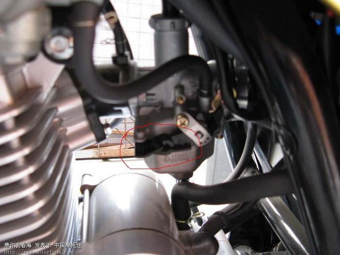 化油器上这个开关是做什么的高清图片