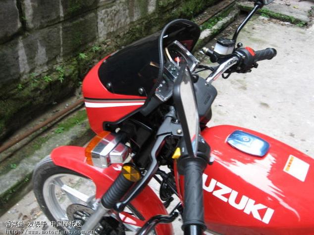 新的经典gs125铃木王 - 济南铃木 - 摩托车论坛 - 第