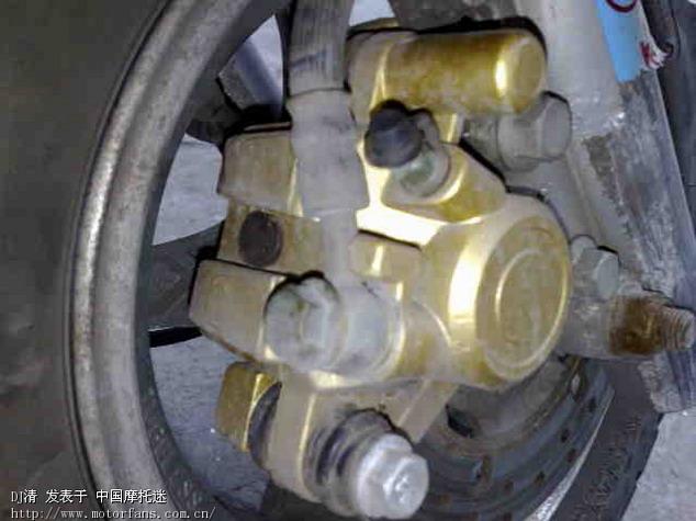摩托车如何调整前碟刹?看图: - 维修改装 - 摩托