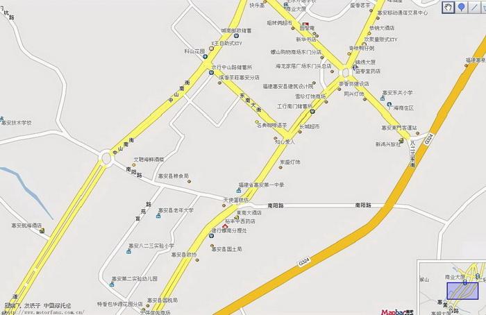 惠安地图-福建摩友交流区-摩托车论坛手机版-中国第