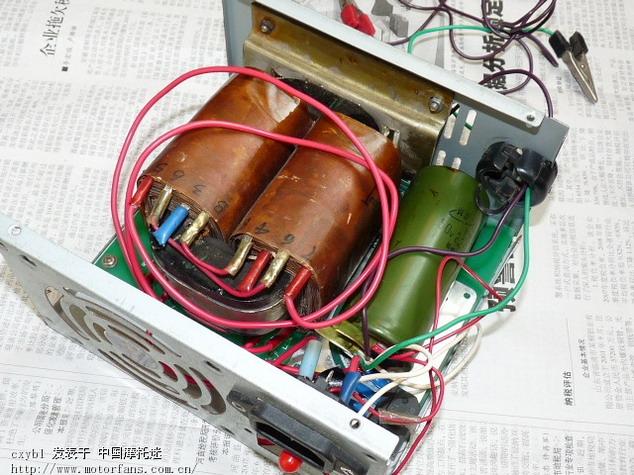 简单的电瓶充电器