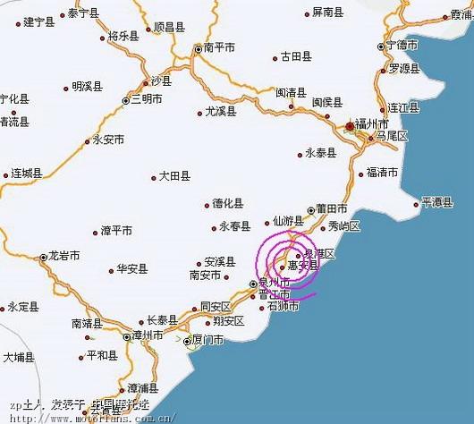 [报到地点是在:福建省泉州市惠安县螺城建设北街霞张